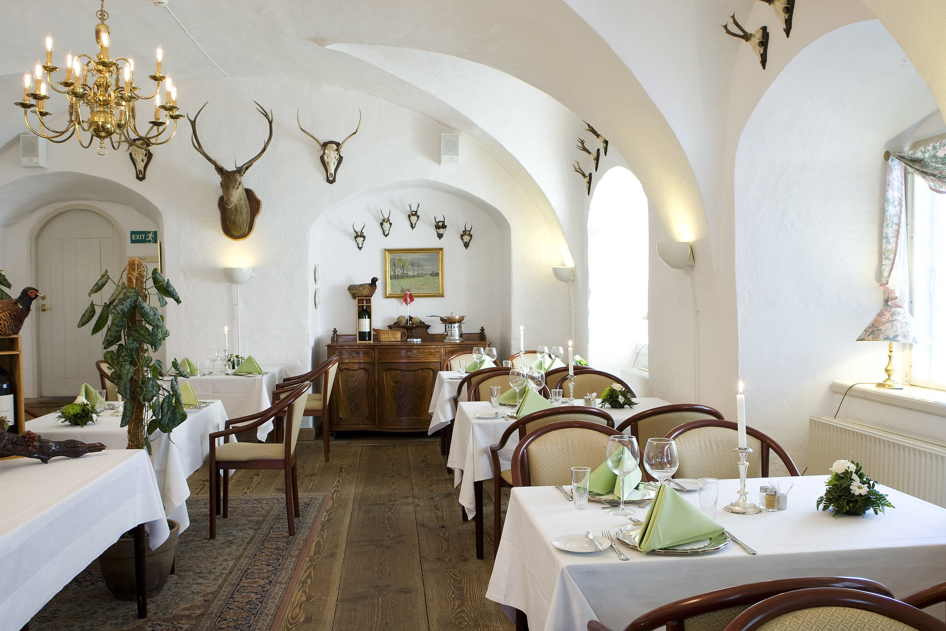 Denmark Finland Hotels Landmarks Luxury Travel Sweden indoor wall table floor restaurant room interior design estate ceiling home real estate dining room Suite furniture decorated