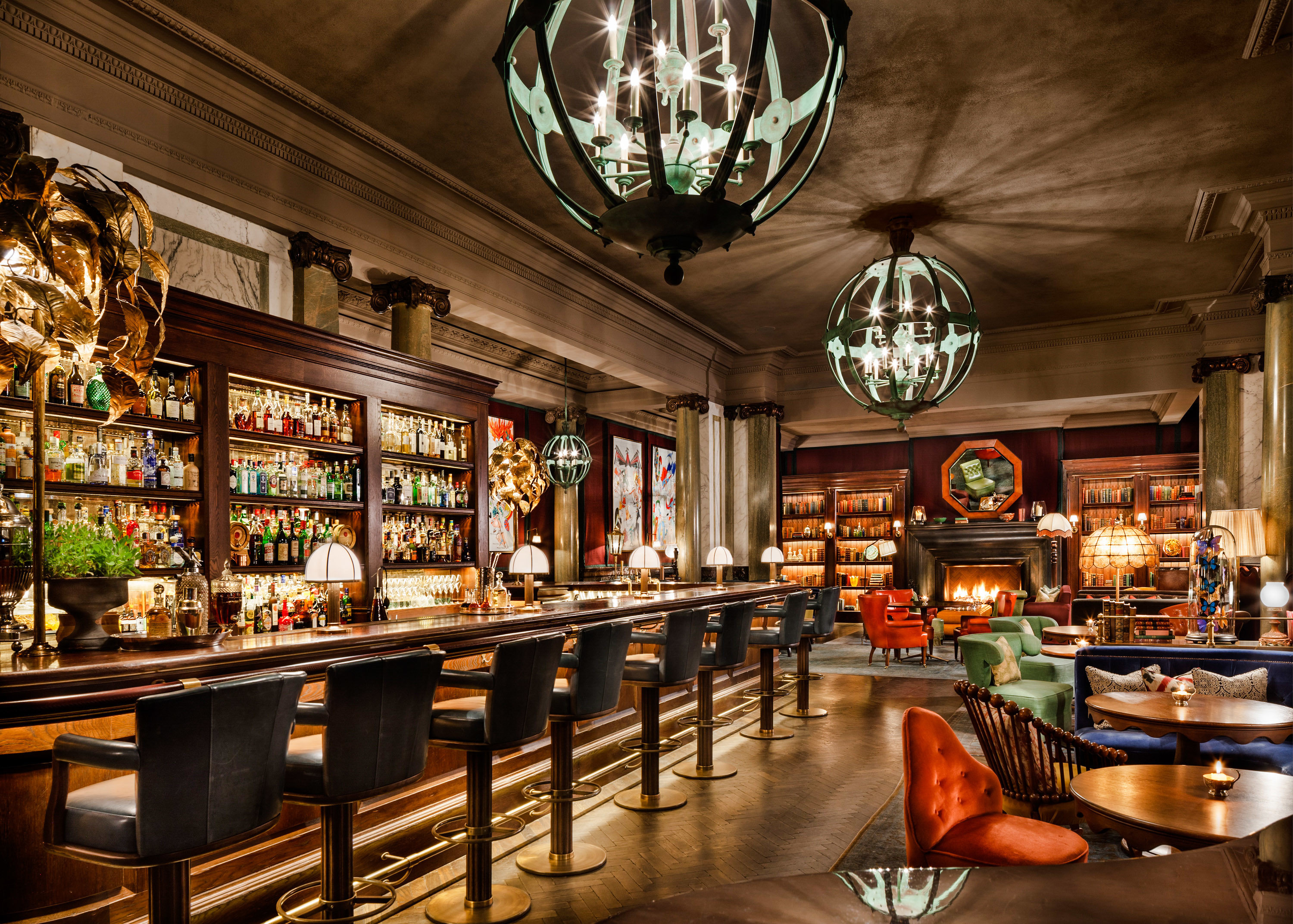 Food + Drink Trip Ideas indoor ceiling Bar interior design store restaurant pub tavern several