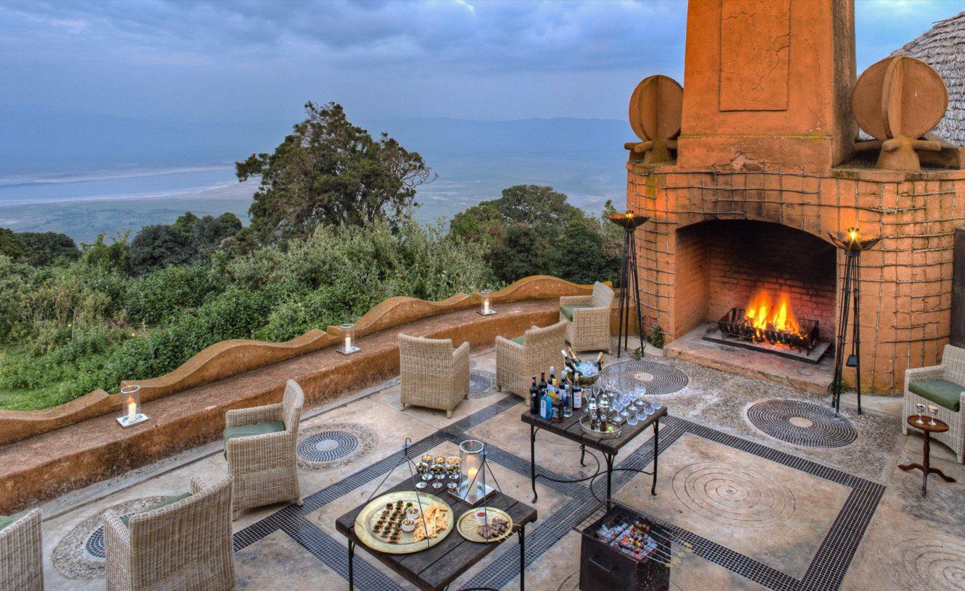 Snacks at andBeyond Ngorongoro Crater Lodge, Tanzania