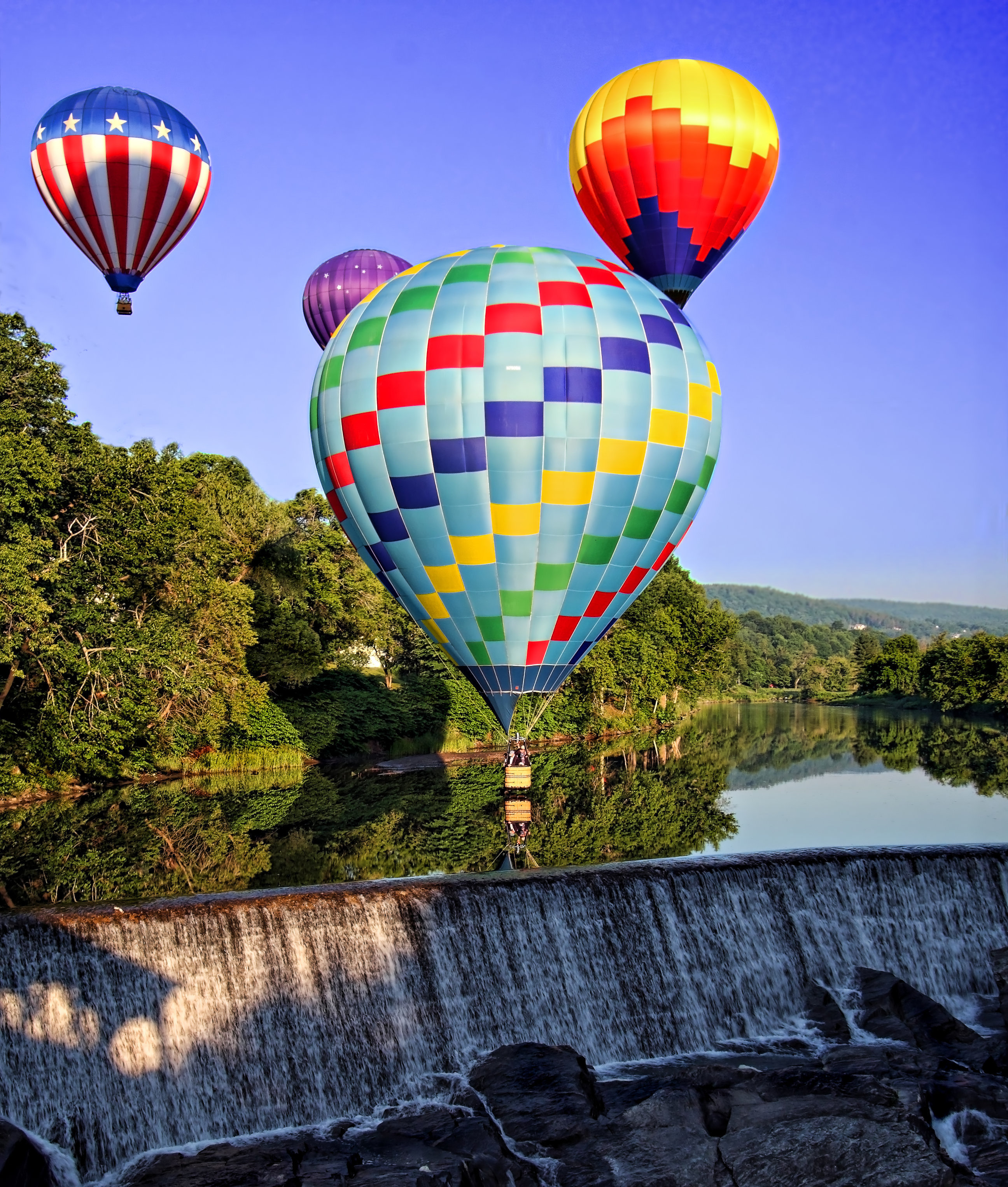 Food + Drink Outdoors + Adventure Trip Ideas Weekend Getaways balloon transport aircraft hot air ballooning Hot Air Balloon Nature outdoor colorful sky atmosphere of earth daytime tourism fun leisure colored