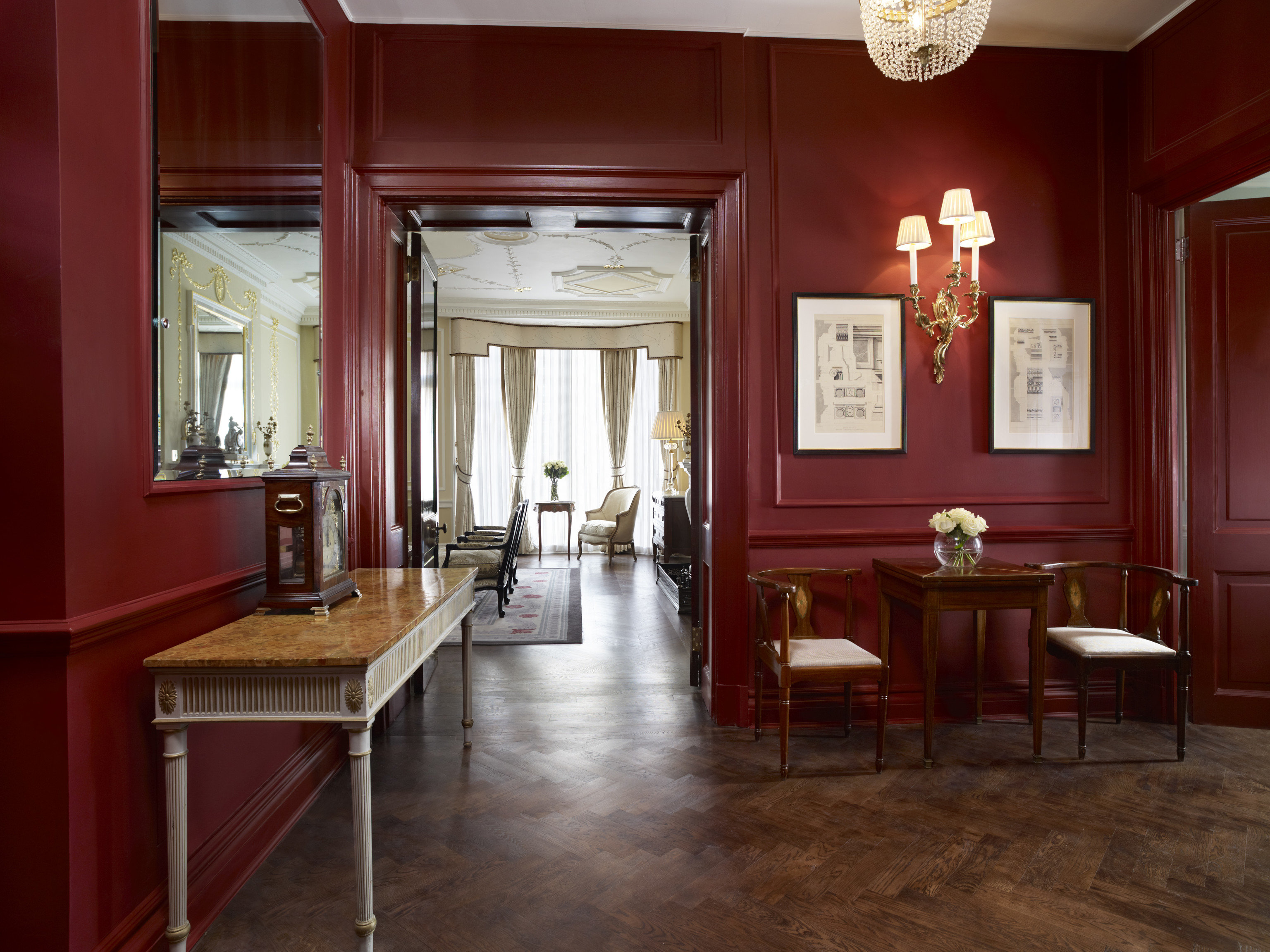 Hotels Luxury Travel floor indoor room window interior design ceiling Lobby wall furniture red flooring dining room table wooden living room hall chair interior designer wood