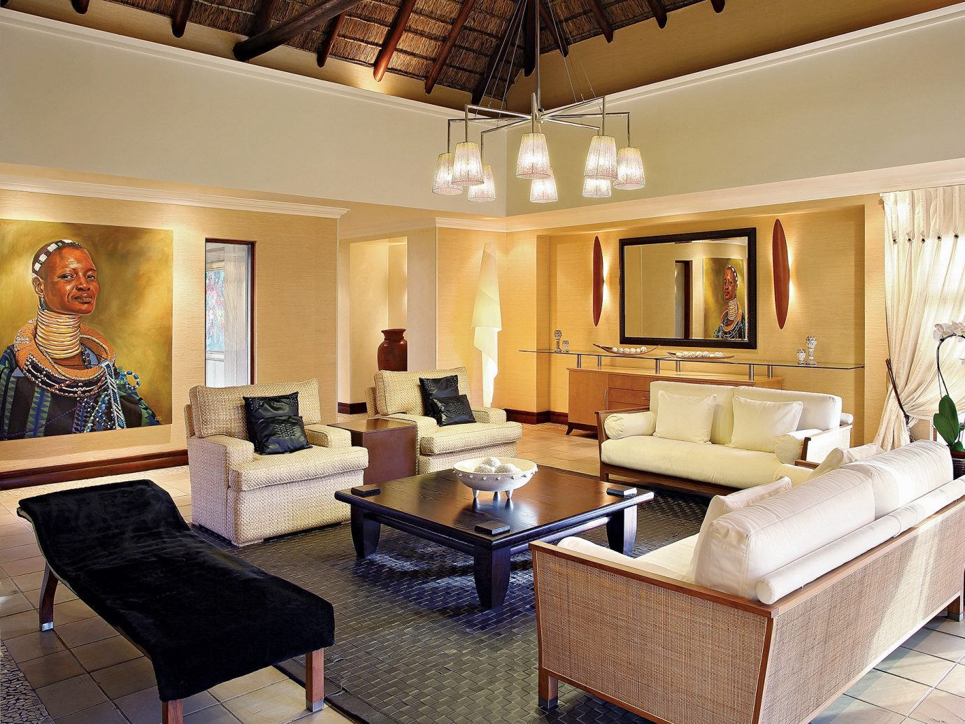 Hotels Safari indoor floor wall ceiling Living room living room property furniture estate Suite home interior design condominium Lobby real estate Villa Design dining room mansion recreation room cottage apartment Bedroom