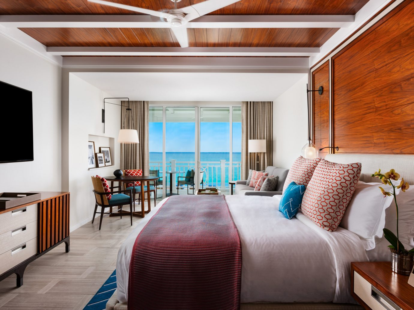 Bedroom at The Ocean Club, a Four Seasons Resort