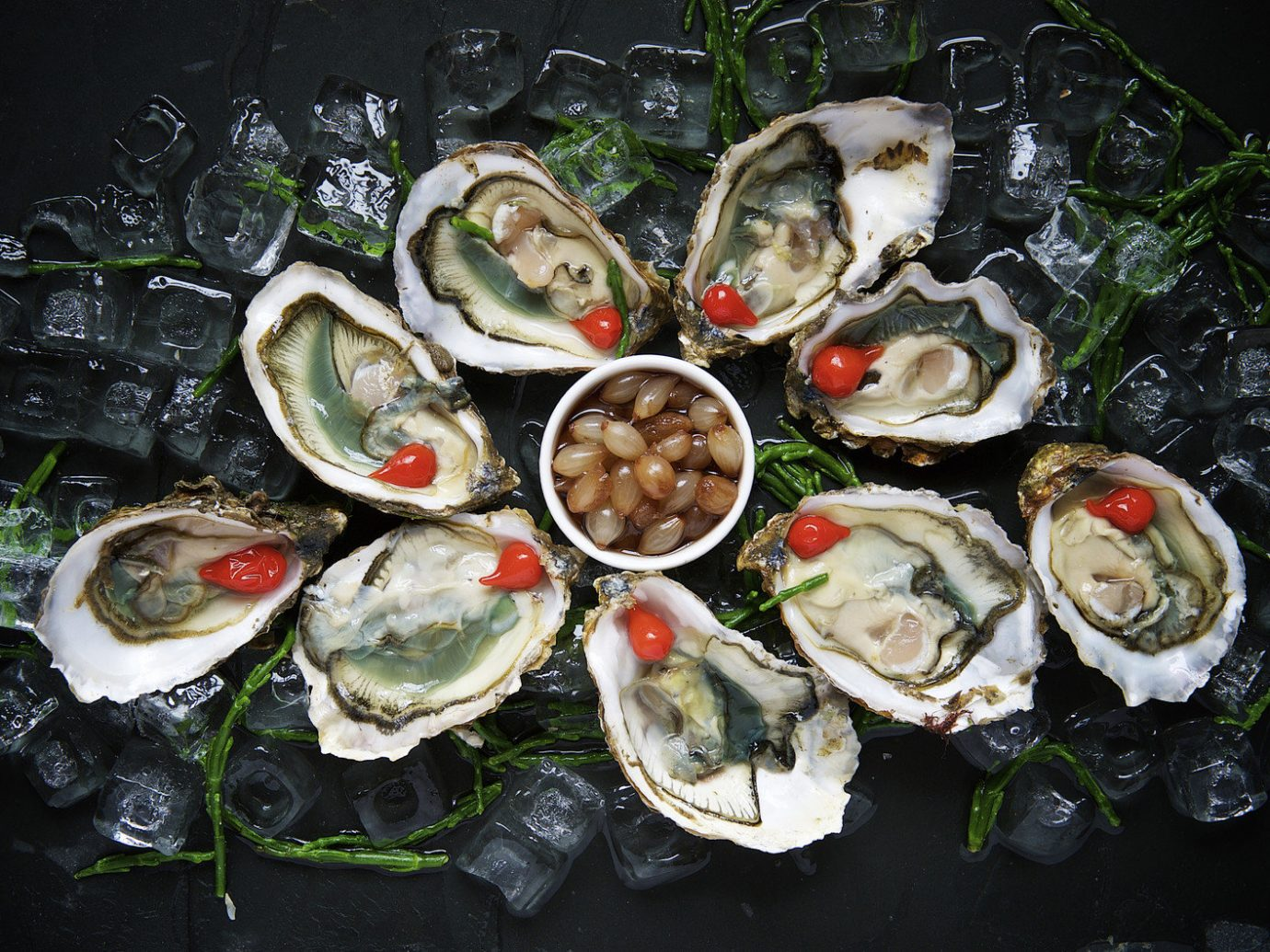 Budget food Seafood dish mussel invertebrate clams oysters mussels and scallops oyster cuisine flower meal variety several