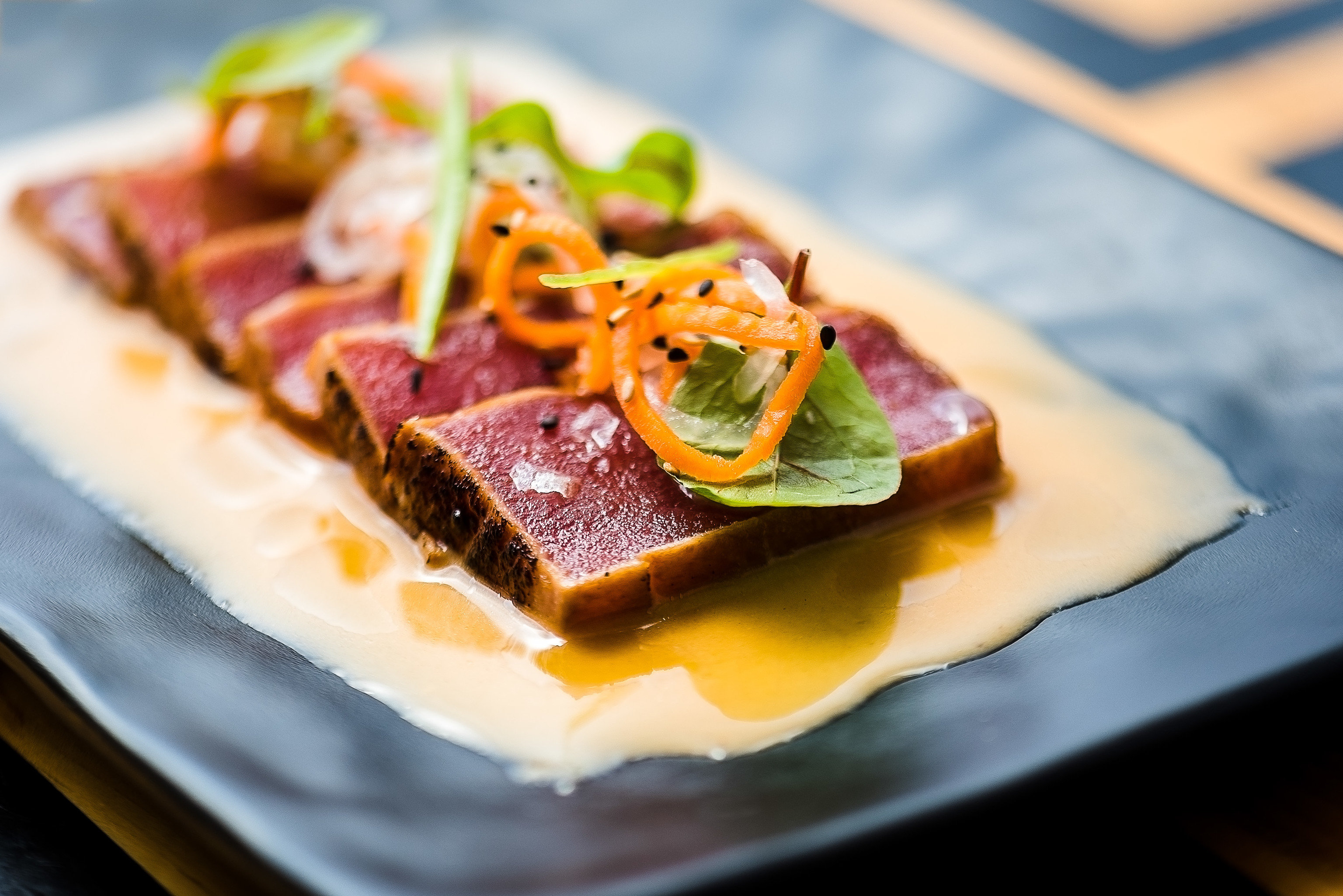 Food + Drink food plate dish cuisine piece appetizer asian food recipe finger food slice dessert square decorated