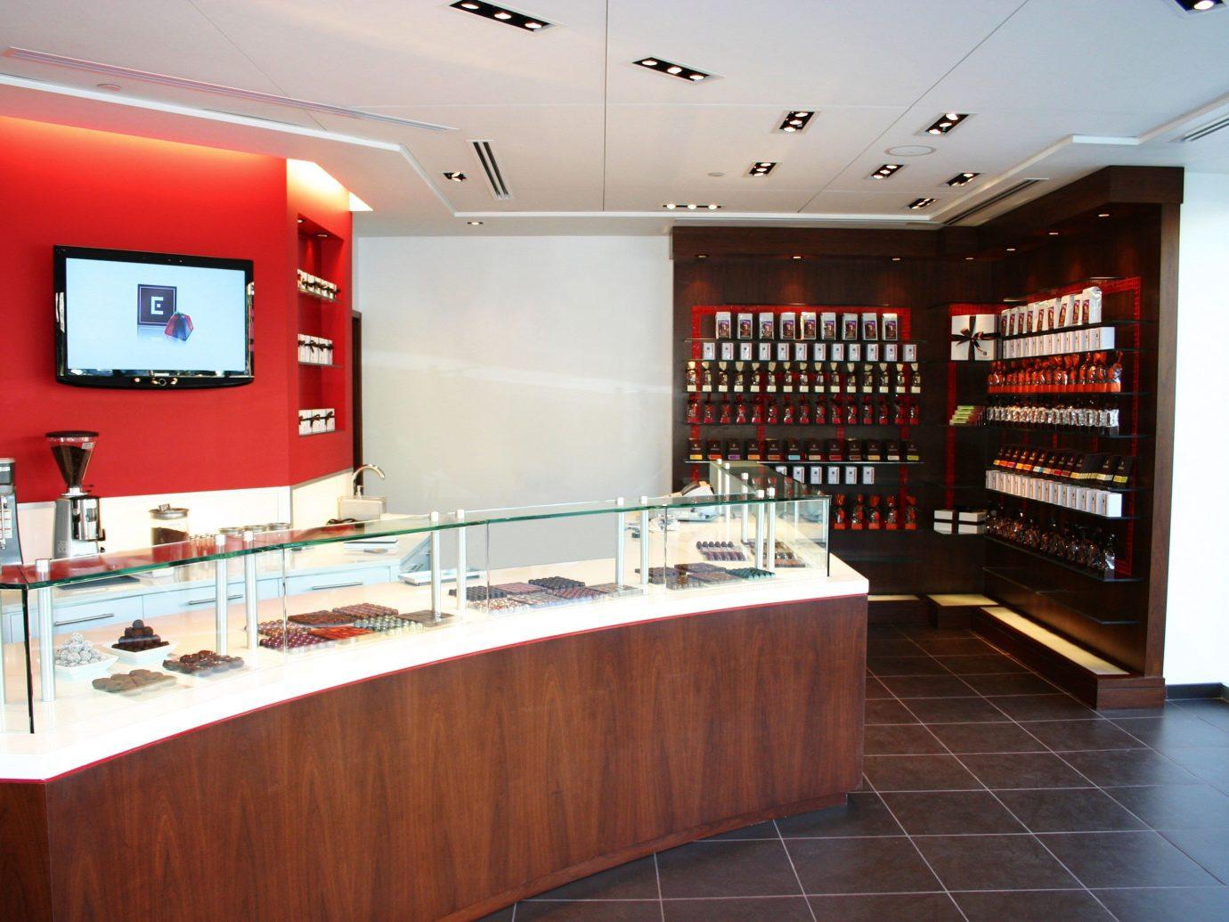Food + Drink floor indoor interior design real estate receptionist restaurant