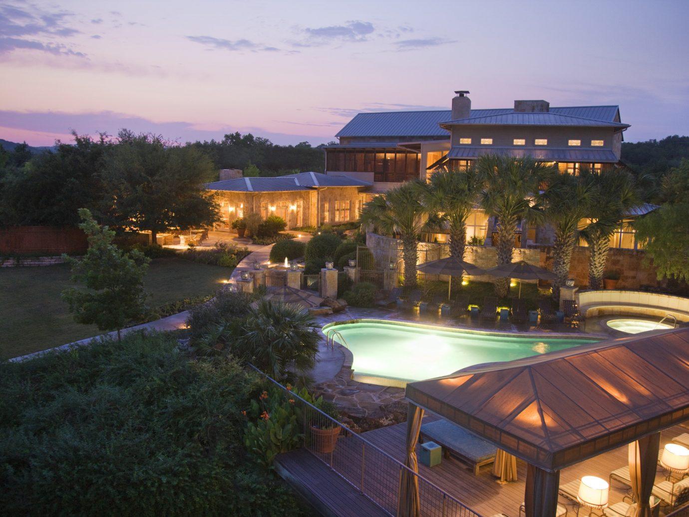 Hotels sky outdoor tree property swimming pool estate Resort Villa mansion light day