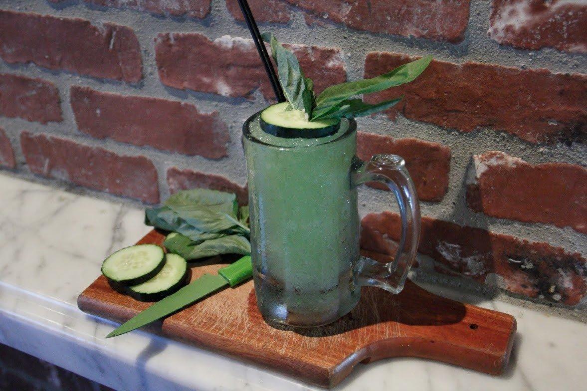 Food + Drink green Drink still life produce