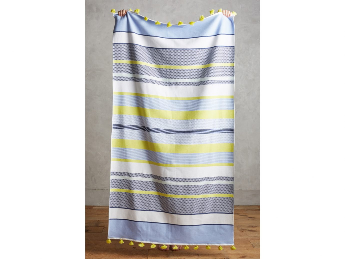 Style + Design yellow indoor textile pattern linens plaid product colorful colored