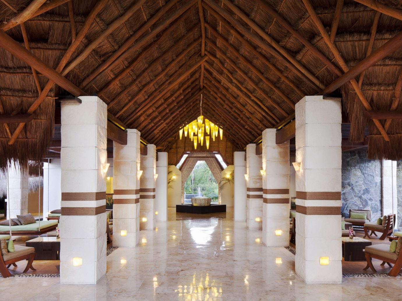 All-Inclusive Resorts Family Travel Hotels indoor building ceiling place of worship chapel interior design aisle several