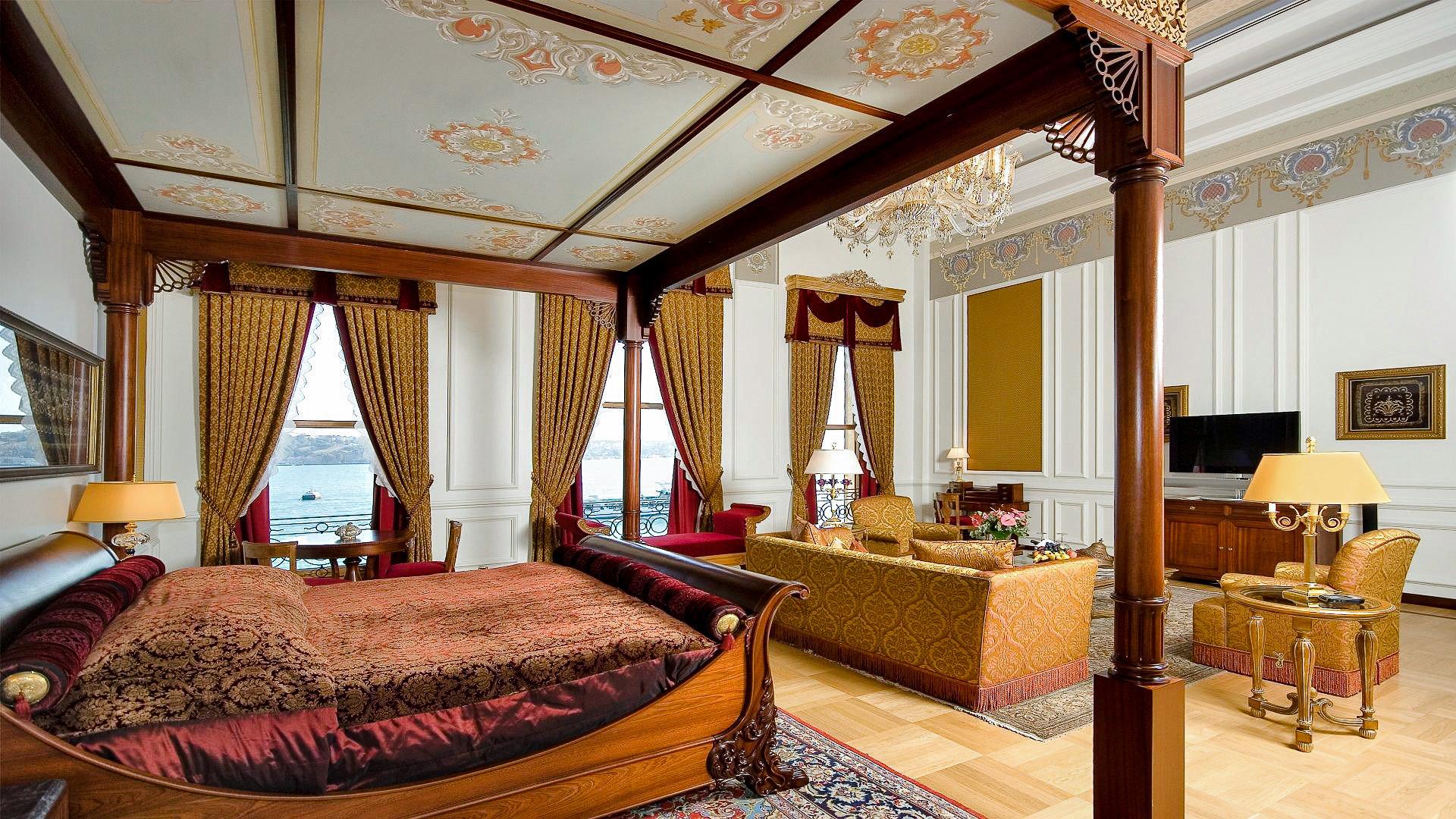 Boutique Hotels Hotels Luxury Travel indoor room ceiling interior design Suite estate real estate hotel Bedroom decorated furniture