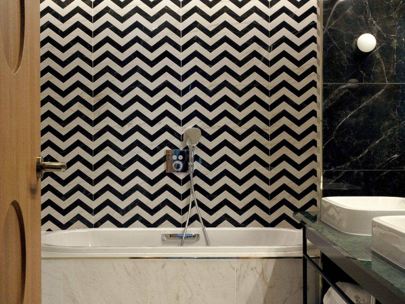 Hotels Madrid Spain indoor room bathroom wall tile interior design Architecture floor ceiling flooring daylighting angle