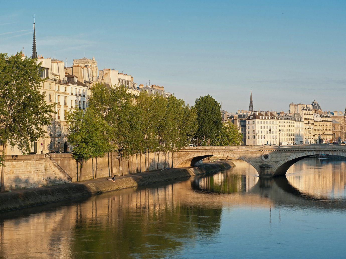 Trip Ideas outdoor water sky River reflection Town waterway Canal vacation bridge moat château cityscape reservoir Sea