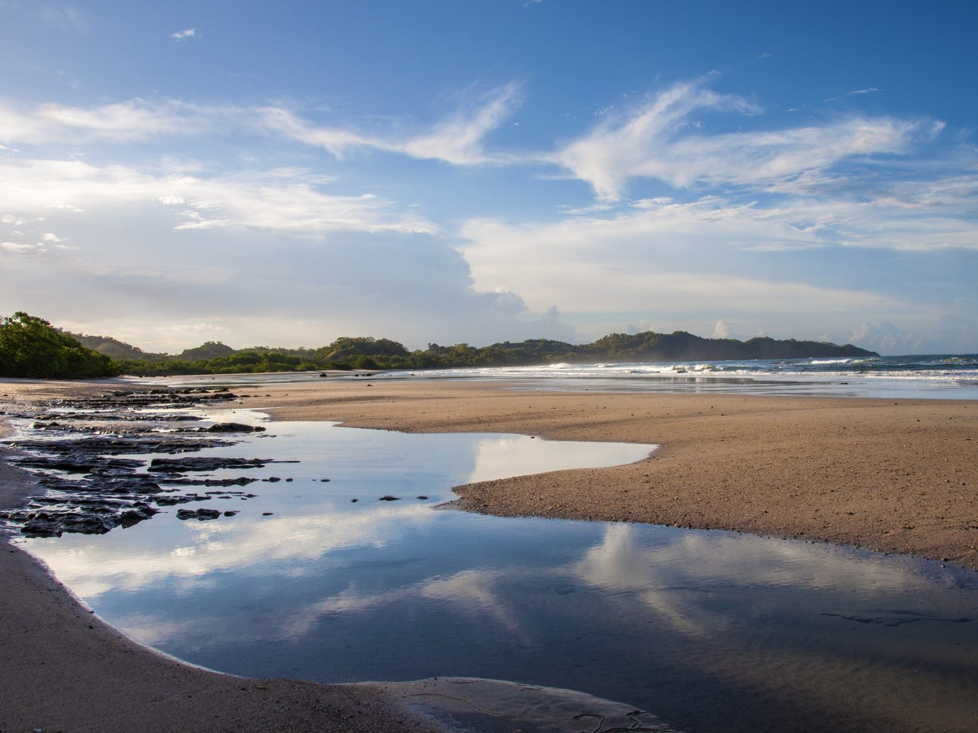 Beach on the Nicoya Peninsula in Costa Rica