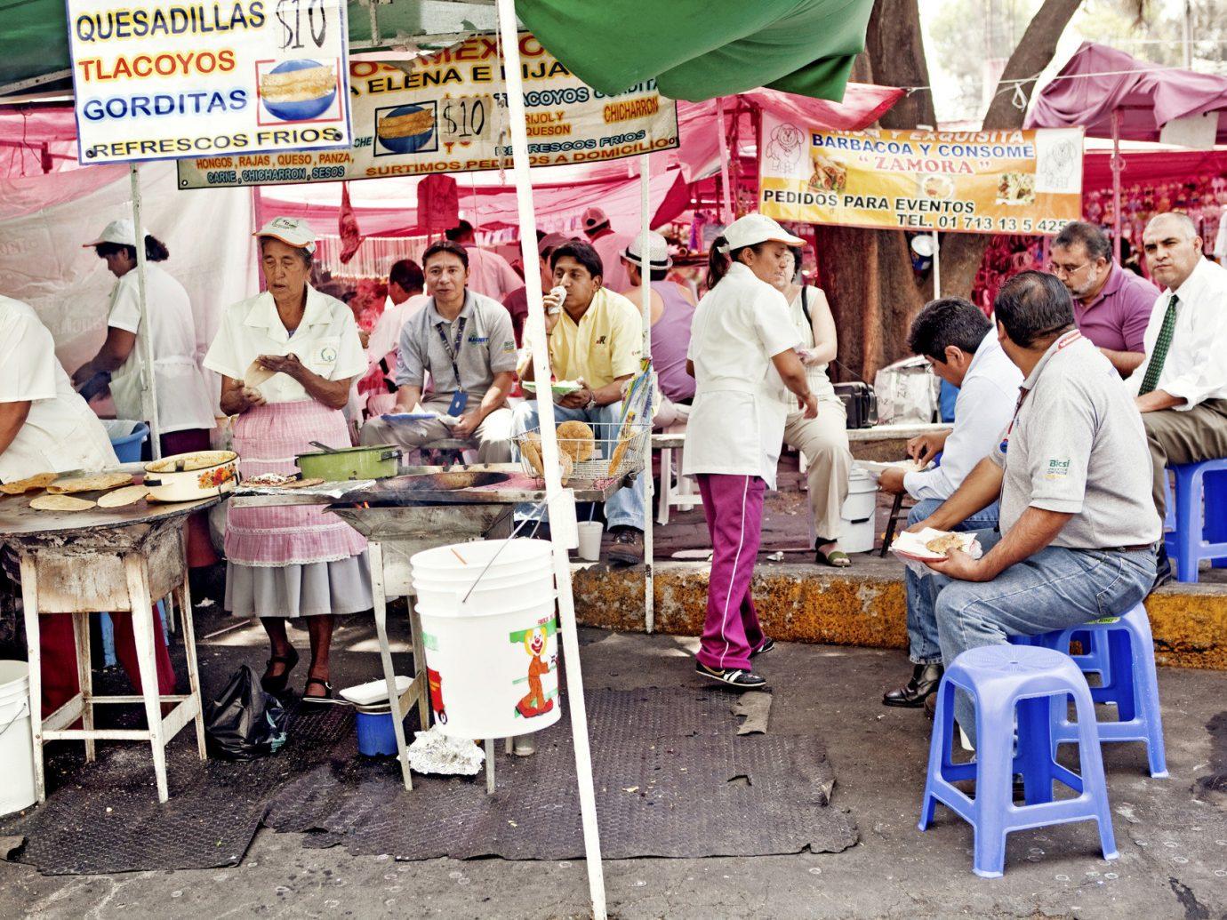 Offbeat Trip Ideas person City public space marketplace vendor market human settlement bazaar street food people group food cuisine stall fair