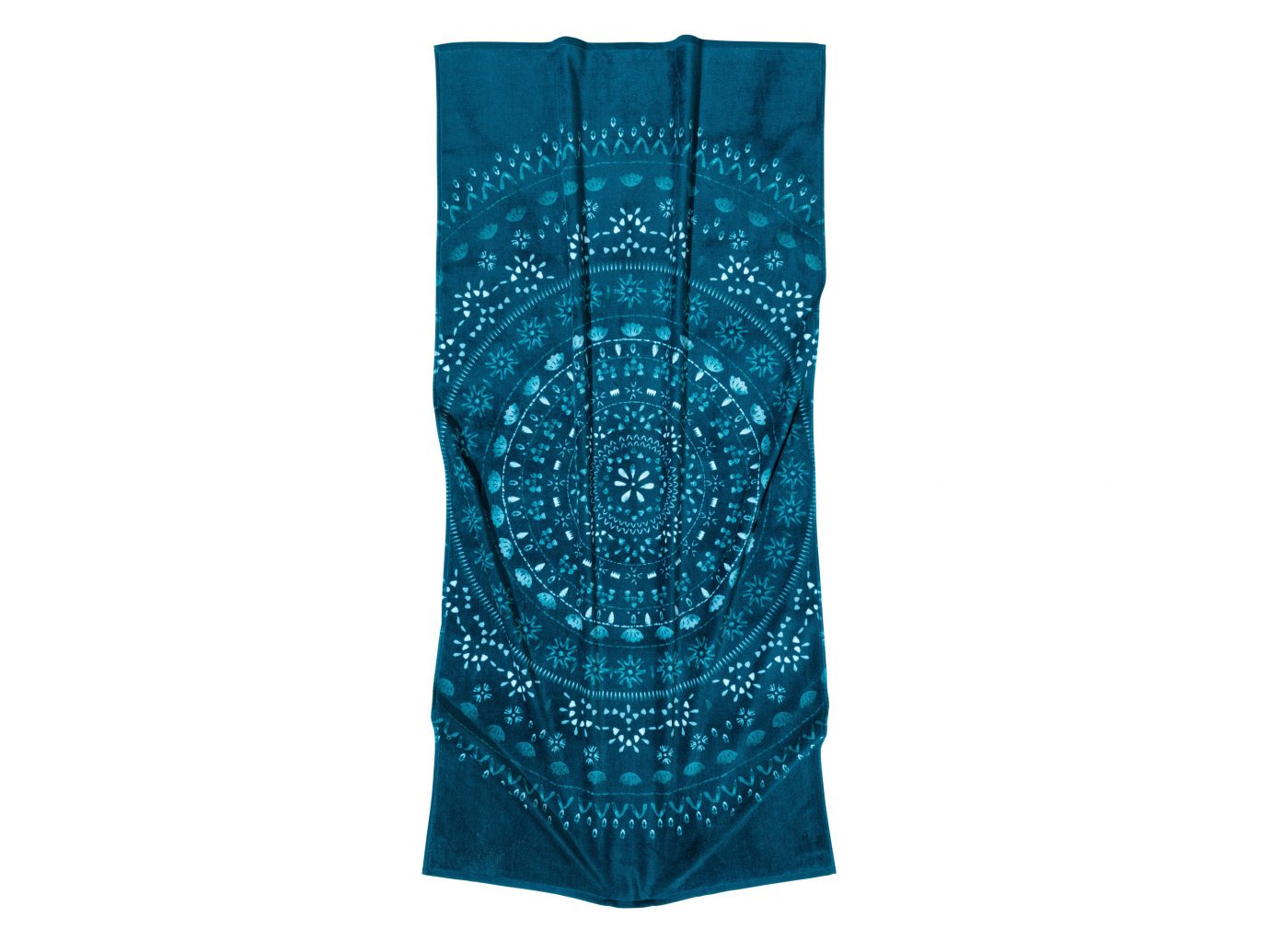 Style + Design aqua teal turquoise electric blue silk