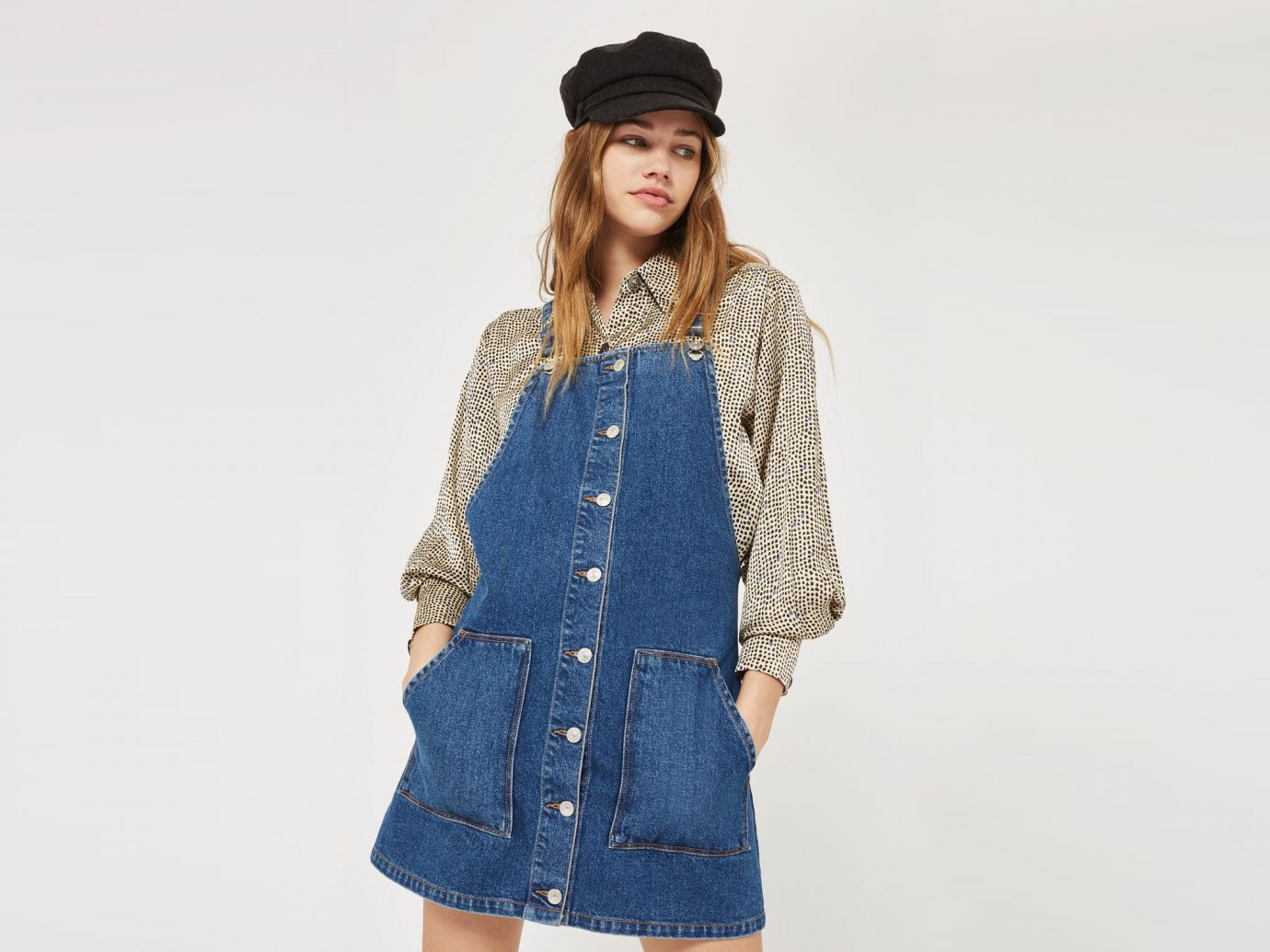 Style + Design Travel Shop person woman clothing standing denim wearing fashion model outerwear shoulder jeans headgear sleeve lady neck coat posing