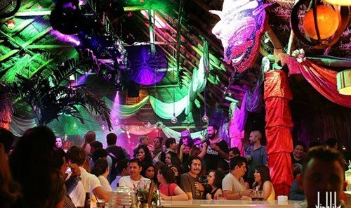 Trip Ideas person nightclub colorful colored crowd