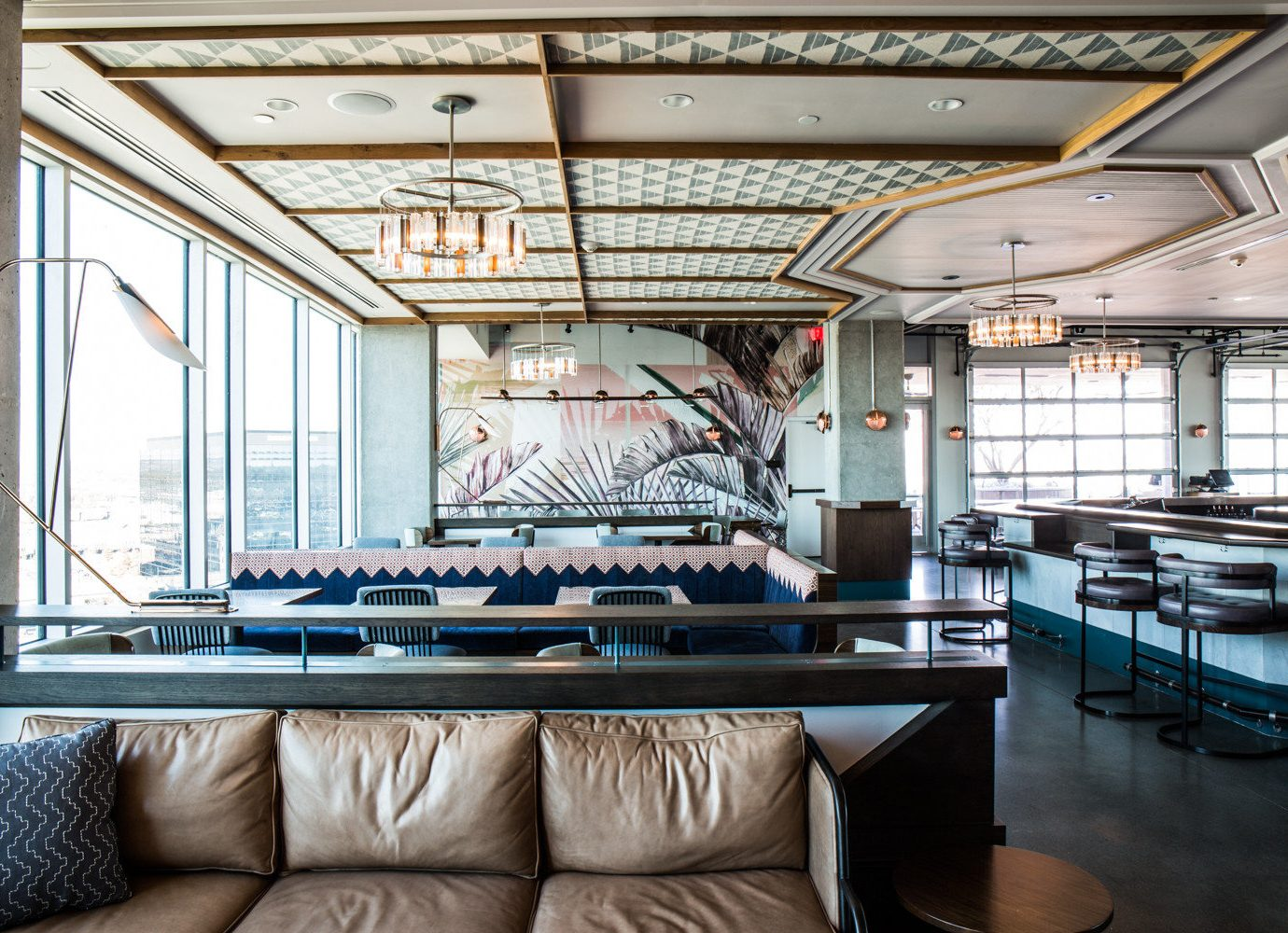Hotels indoor floor room ceiling living room interior design home estate Design window covering yacht