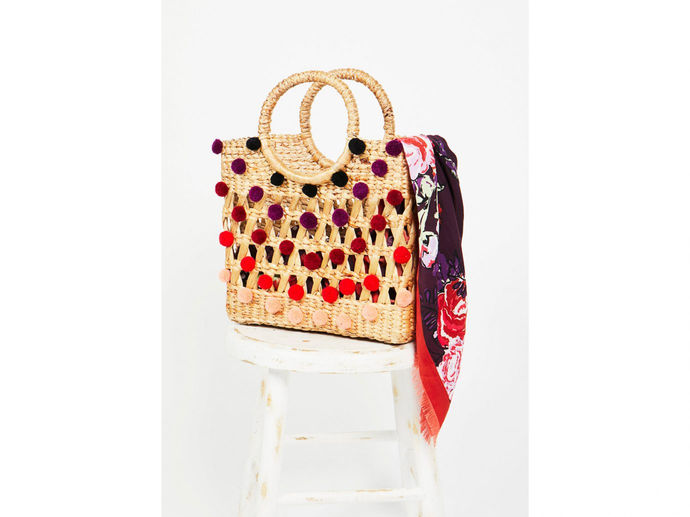 Cruise Travel Style + Design handbag pink fashion accessory pattern bag Design textile