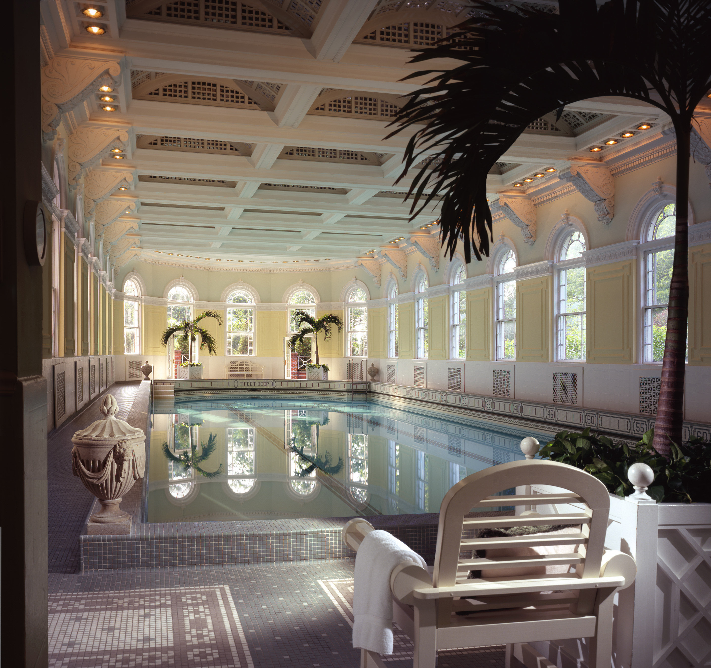 Romance Trip Ideas Weekend Getaways swimming pool interior design estate Lobby ceiling hotel condominium amenity furniture