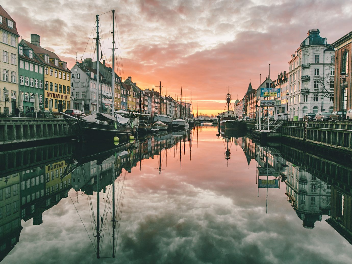 Adventure Copenhagen Denmark Luxury Travel Outdoor Activities Trip Ideas outdoor Canal River reflection landform geographical feature waterway body of water cityscape water scene landmark City urban area Town morning channel evening bridge cloudy line day