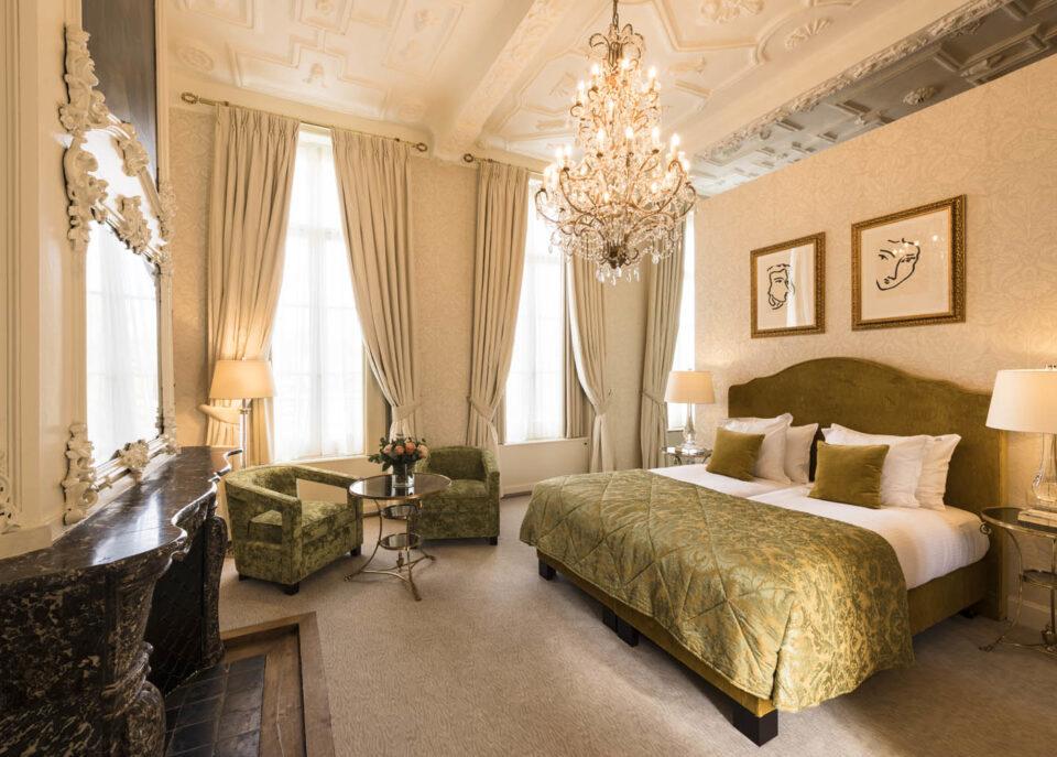 Junior Suite at Dukes' Palace in Bruges Belgium