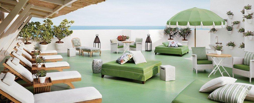 Hotels green indoor room property estate Resort Villa living room home interior design furniture cottage real estate Design mansion