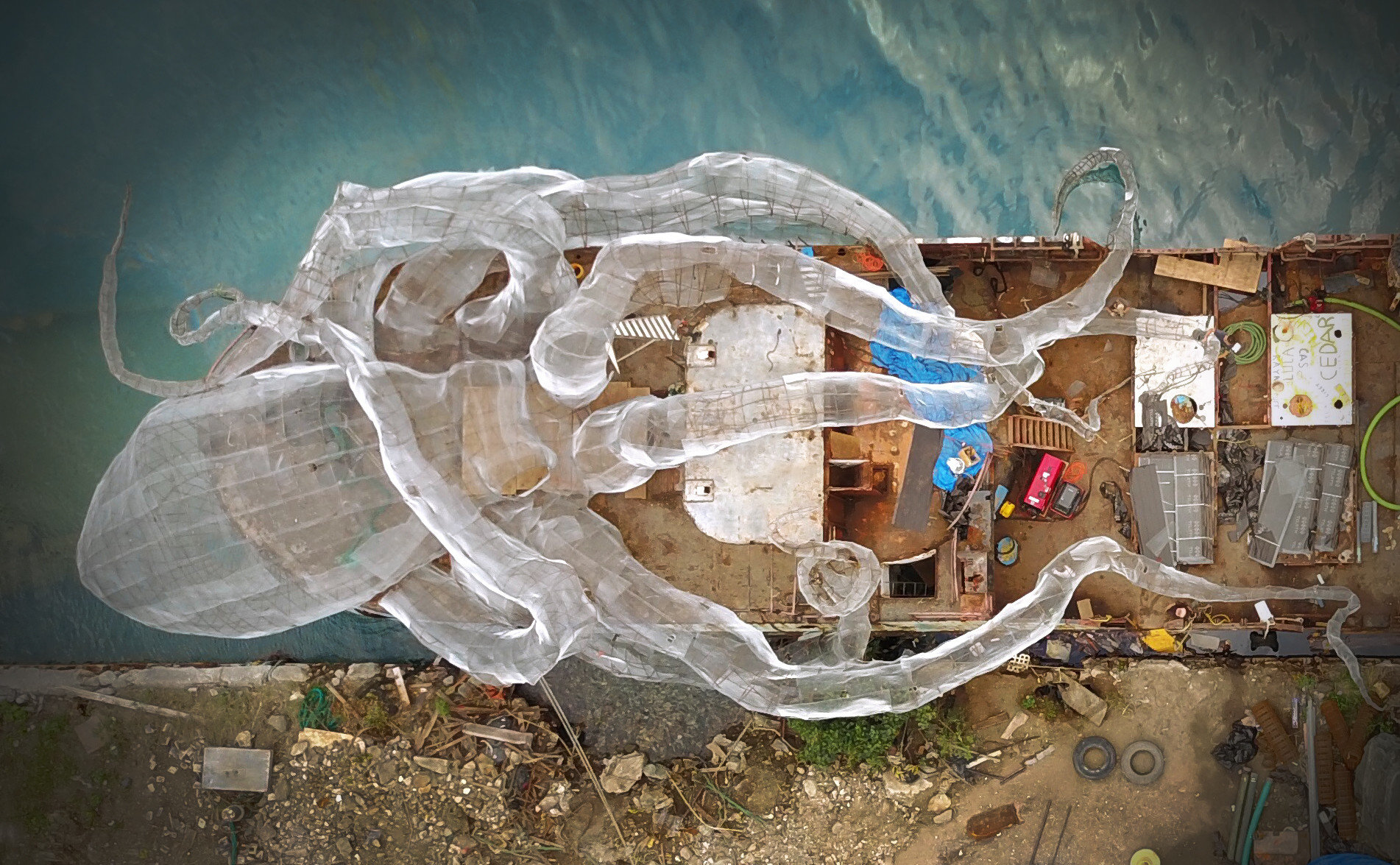 Trip Ideas broken old art water dirty trash