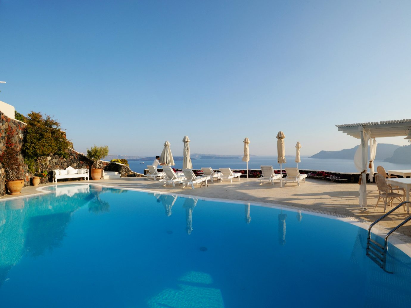 Hotels sky swimming pool property leisure Resort vacation estate Villa blue Sea bay marina Pool