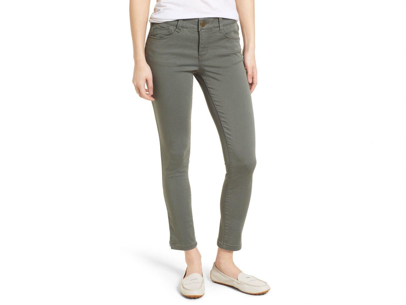 Style + Design Travel Shop clothing person woman trouser khaki standing posing jeans denim trousers active pants waist pocket joint shoe female
