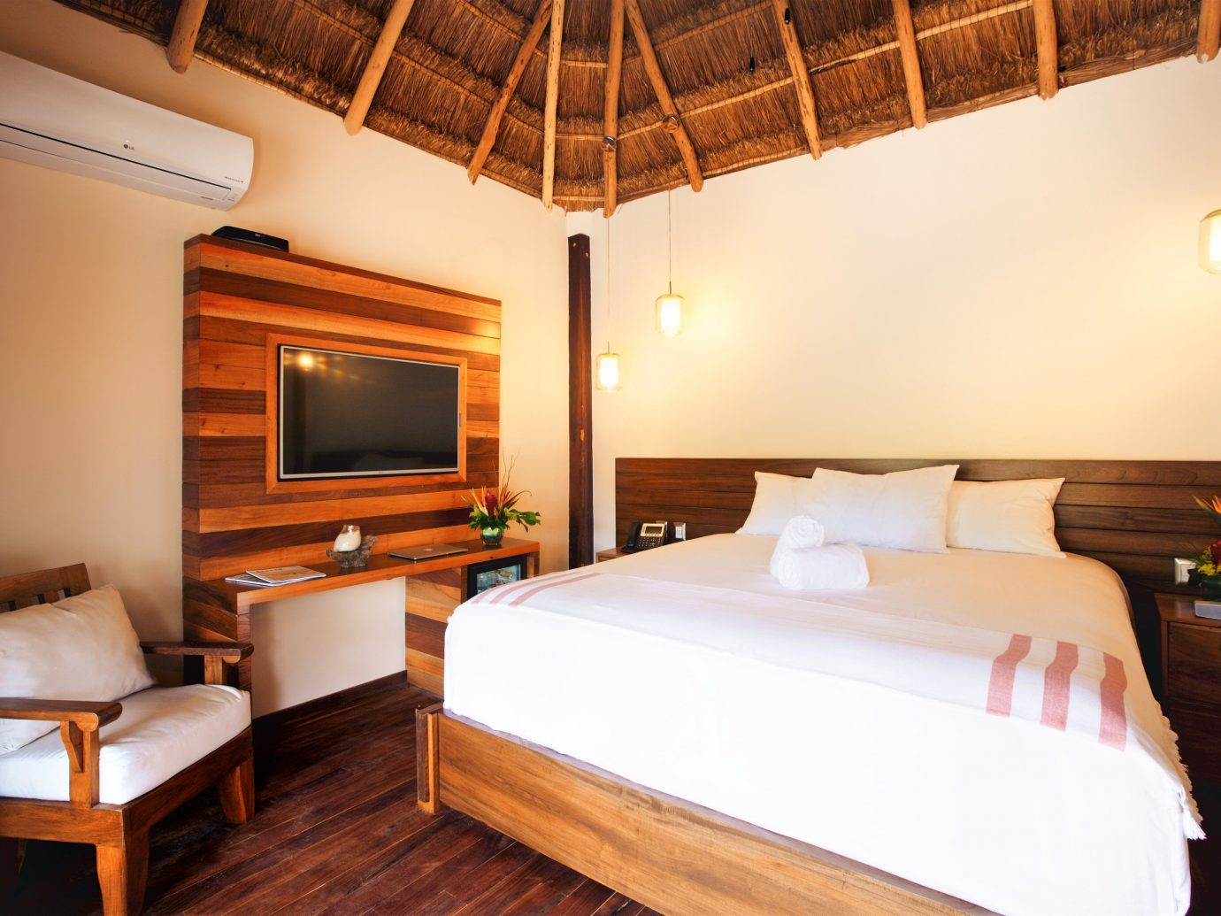 Boutique Hotels Hotels Mexico Tulum indoor wall floor bed room Bedroom Suite ceiling hotel boarding house real estate interior design furniture estate wood