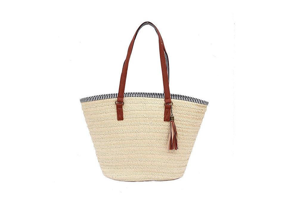 Style + Design handbag brown bag shoulder bag tote bag fashion accessory basket leather beige container textile