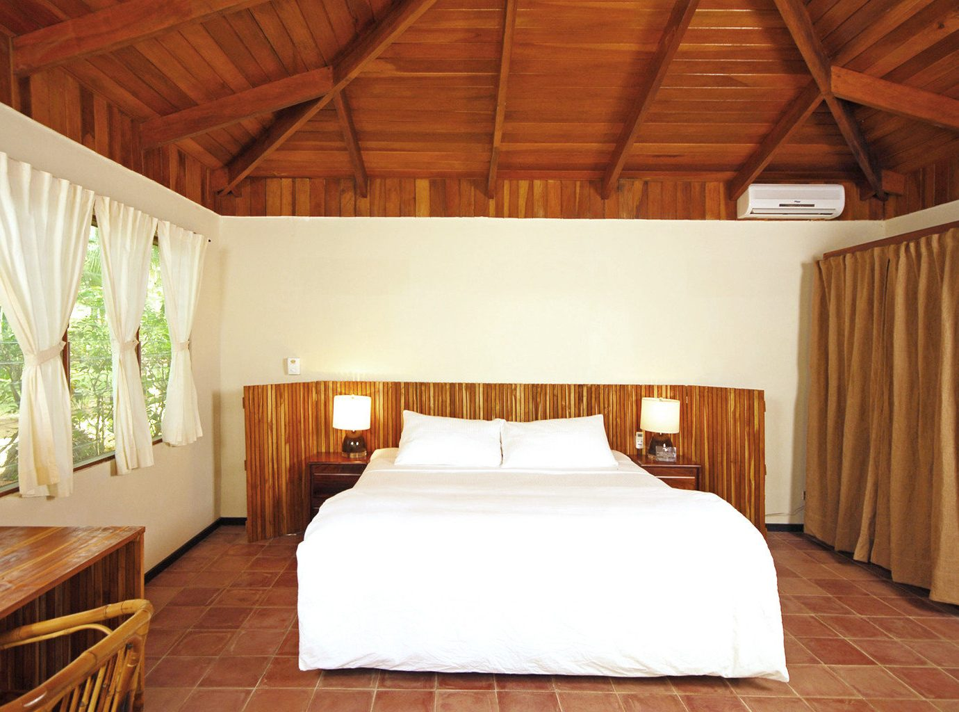 Bedroom at Harmony Hotel in Costa RIca