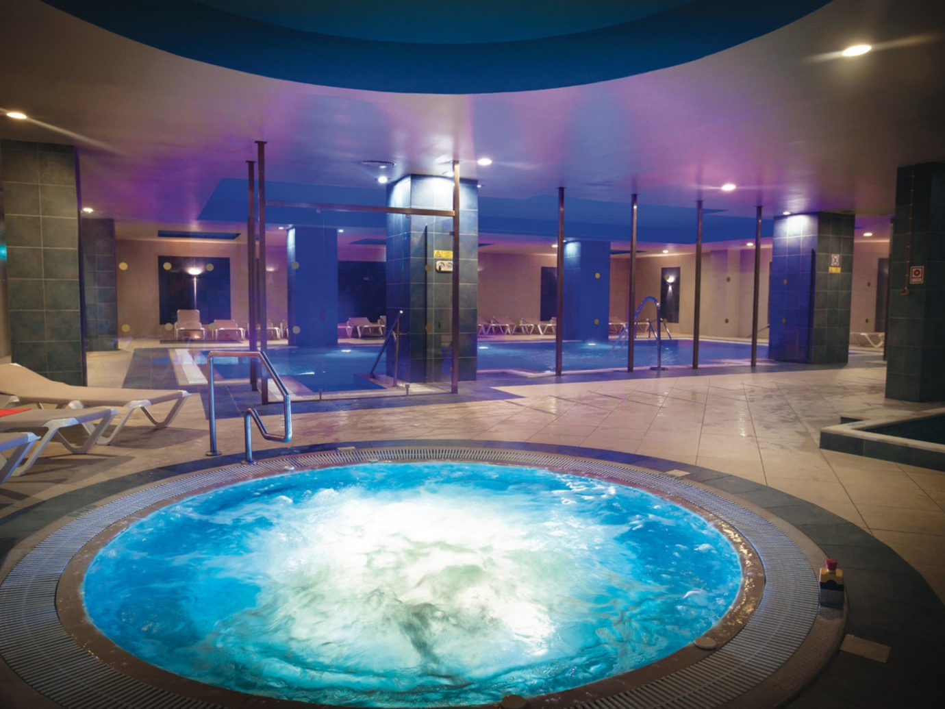 All-Inclusive Resorts Hotels ceiling indoor swimming pool leisure thermae Pool leisure centre jacuzzi blue hotel estate interior design amenity resort town Resort