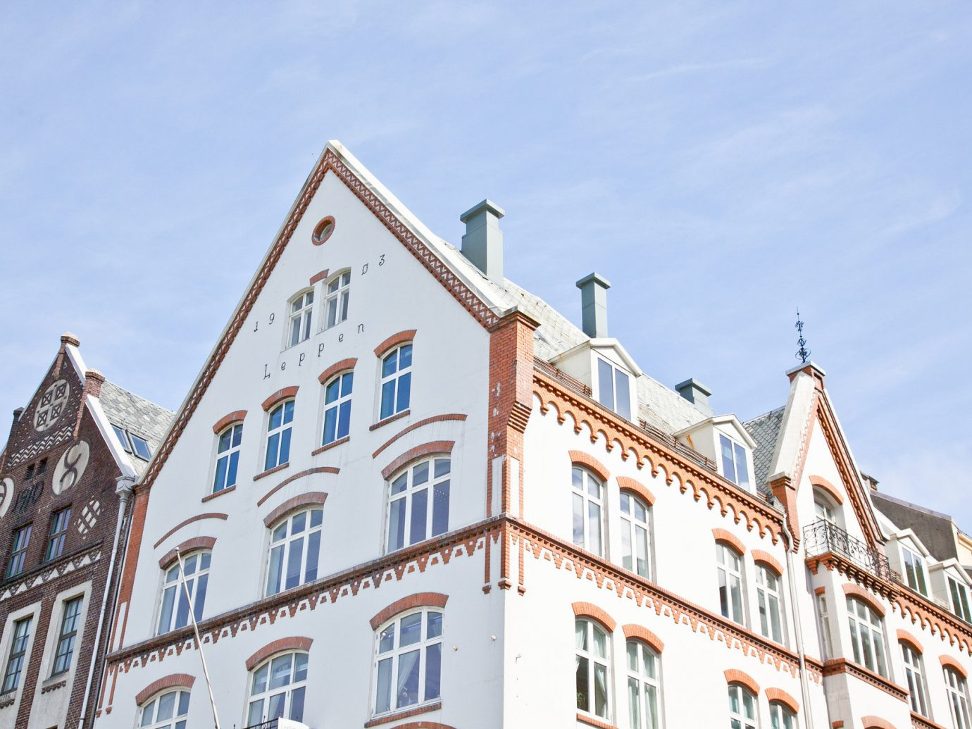 Architecture daylight detail europe rooftops Trip Ideas outdoor sky building Town landmark tourism facade tours government building roof
