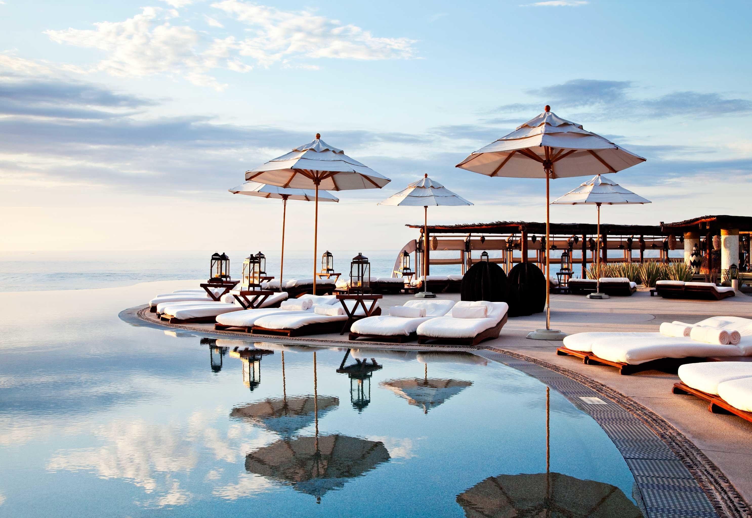 Beach Beachfront Honeymoon Hotels Living Lounge Mexico Romance Tulum sky outdoor leisure marina Resort vacation Sea dock vehicle yacht bay several day