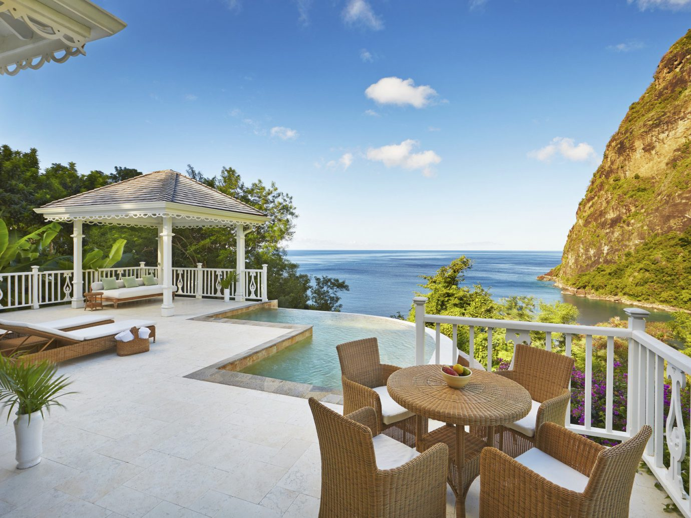 Pool And Patio At Grand Luxury Villa At Viceroy Resort In Sugar Beach