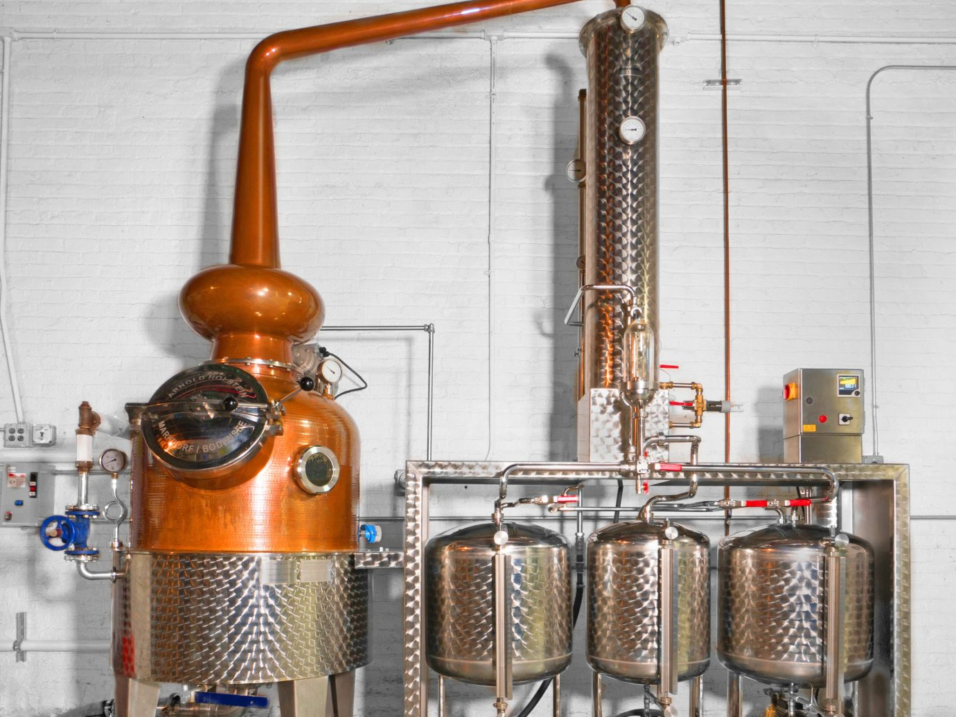 Brooklyn Food + Drink product machine brewery