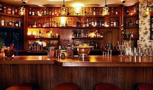 Trip Ideas indoor ceiling Bar restaurant wooden table wood