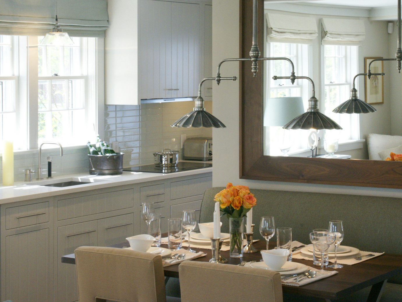 Boutique Boutique Hotels Dining Drink Eat Health + Wellness Hotels Inn Kitchen Lodge Trip Ideas Waterfront indoor window room property dining room home counter cabinetry countertop interior design floor sink lighting estate cottage Design real estate living room apartment cluttered Island