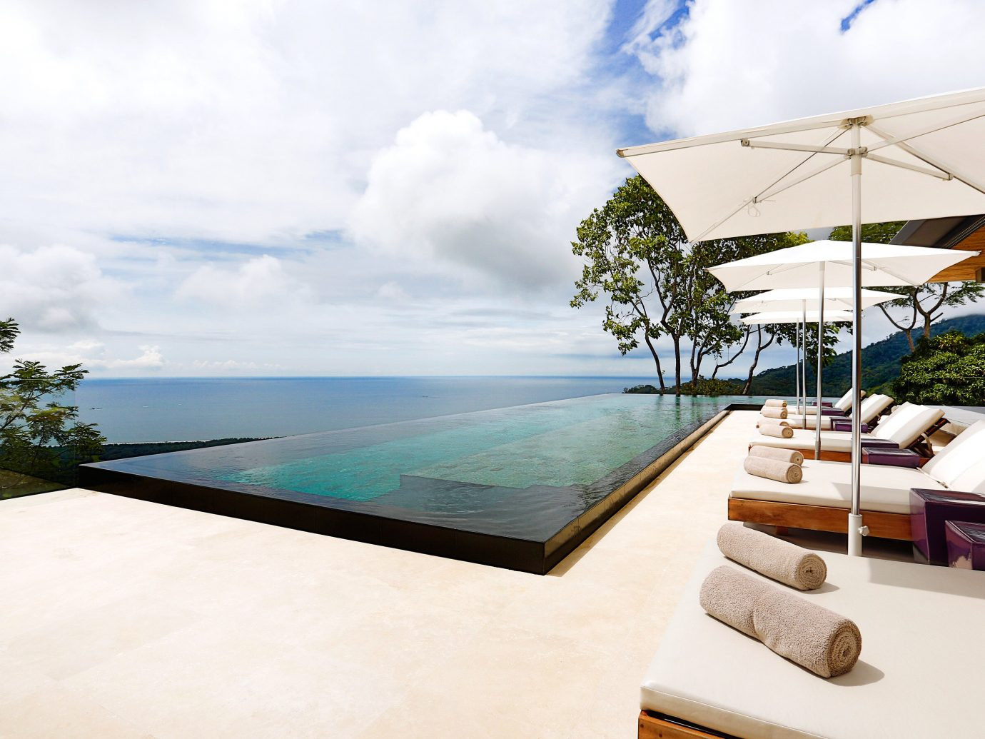 Infinity Pool At Kura Design Villas In Costa Rica