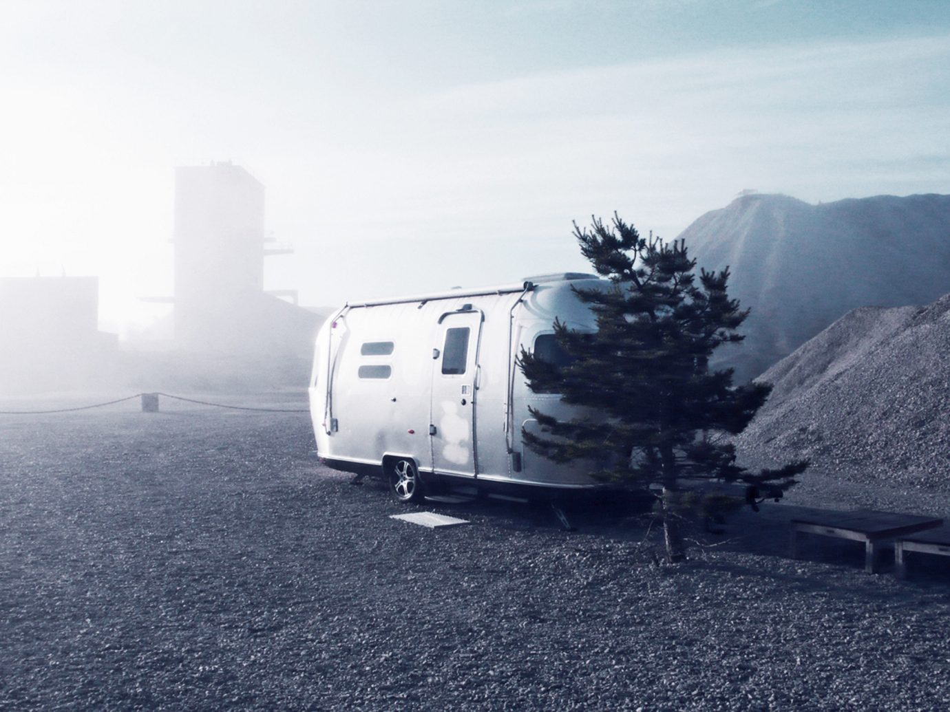 Design Hotels outdoor sky mountain arctic glacial landform mountain range automotive exterior trailer