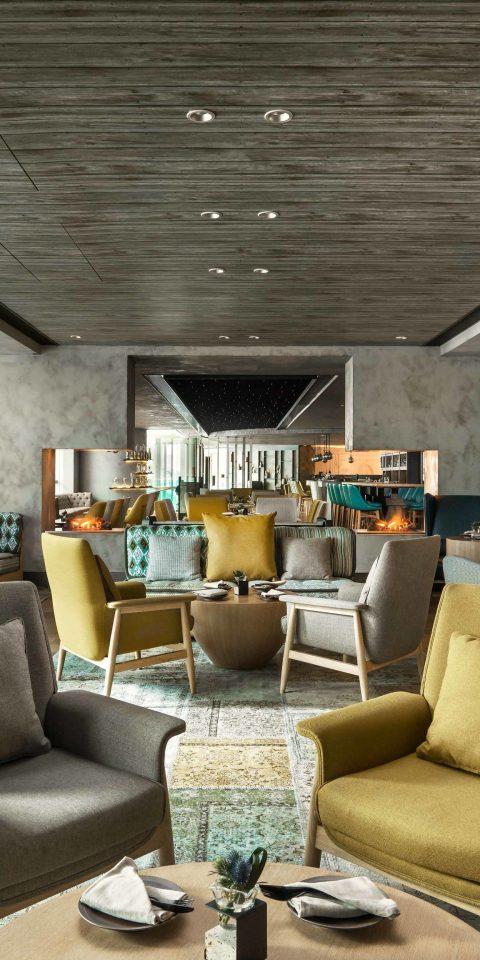 Hotels indoor floor ceiling room living room Living property interior design home estate condominium lighting Lobby Design real estate loft furniture area
