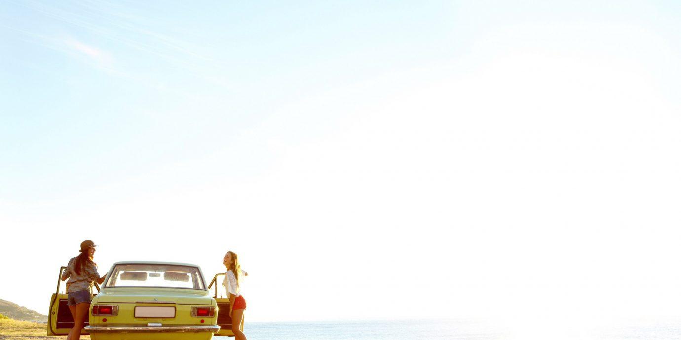 Road Trips Travel Tech Travel Tips sky outdoor Beach Ocean vehicle sandy