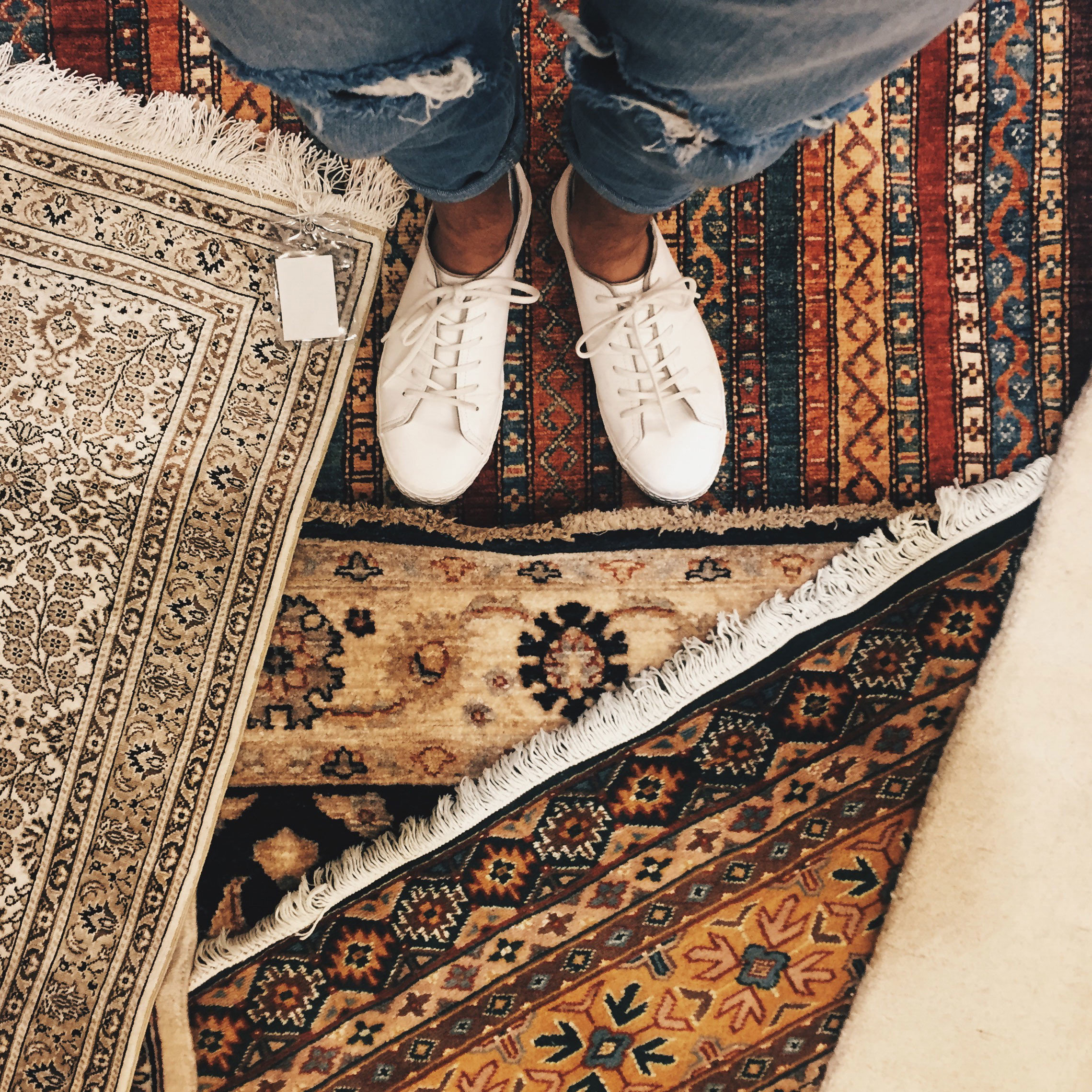 Style + Design floor indoor art footwear flooring pattern spring Design shoe textile rug