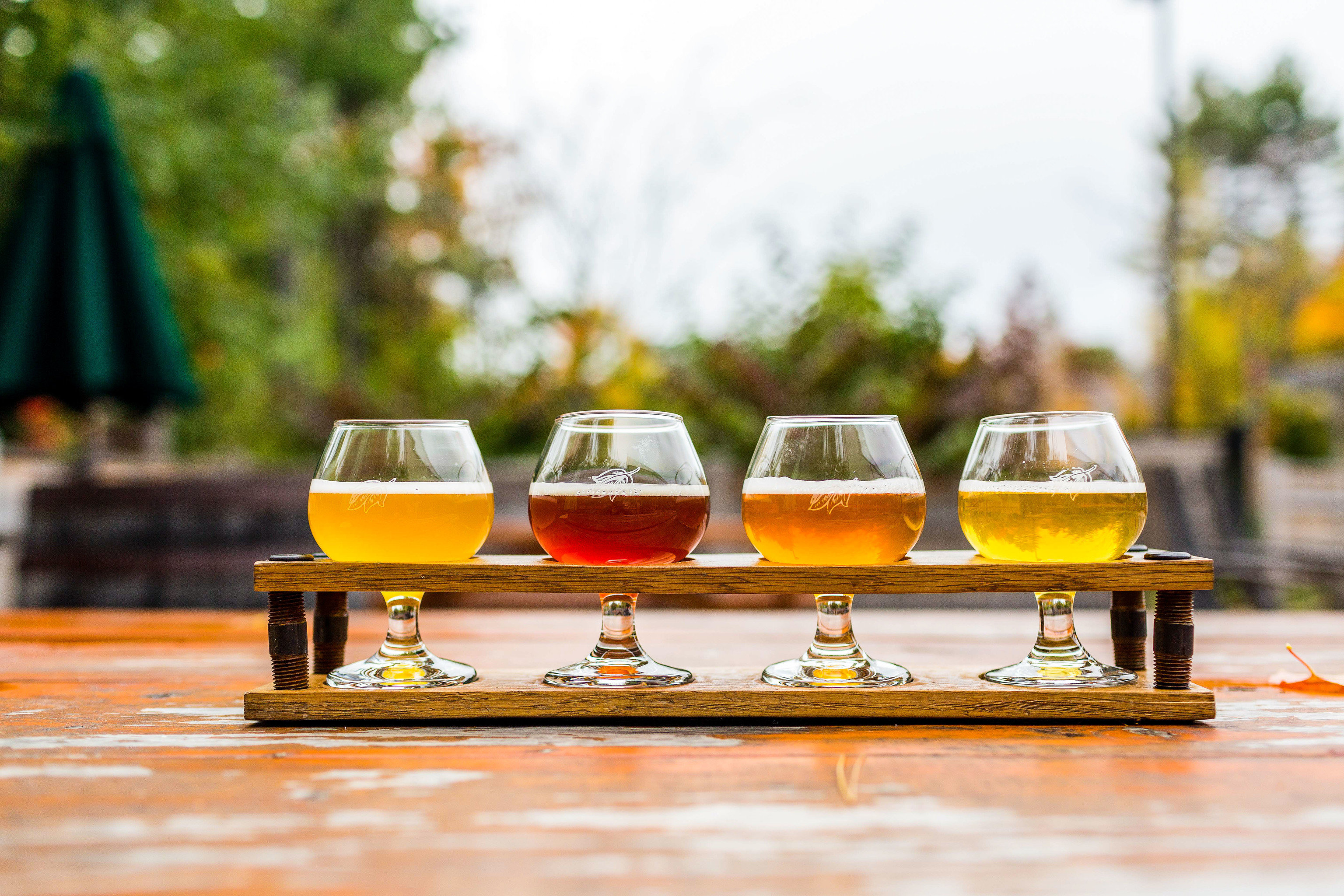 Food + Drink Trip Ideas table outdoor Drink alcoholic beverage beer glass orange