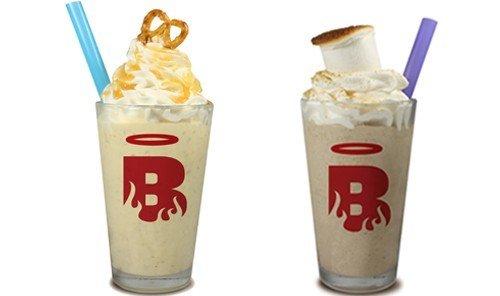 Food + Drink cup coffee table Drink milkshake food pastry frappé coffee dessert tray plastic breakfast blender