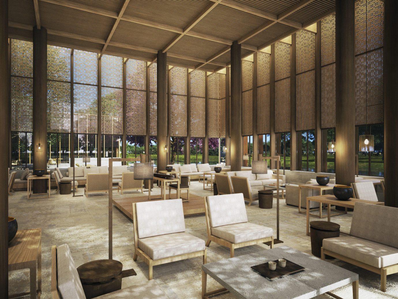 Trip Ideas indoor interior design furniture Lobby daylighting area several