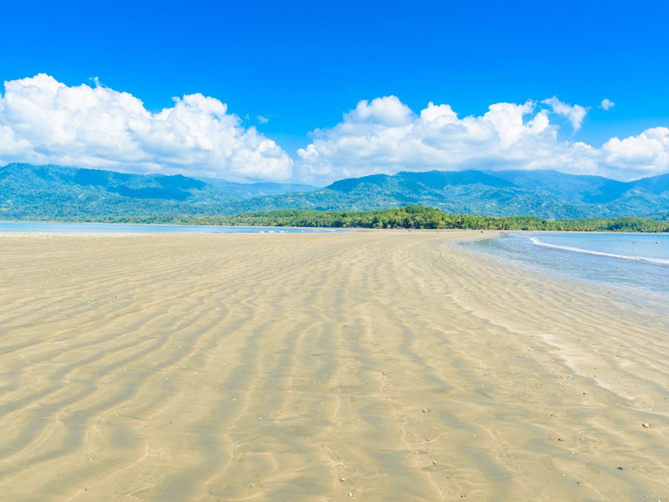 Playa Hermosa beach in Costa Rica